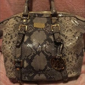 New Snakeskin Michael Kors Purse